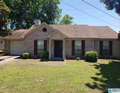 Bessemer Single Family Home For Sale: 520 Flint Hill Rd
