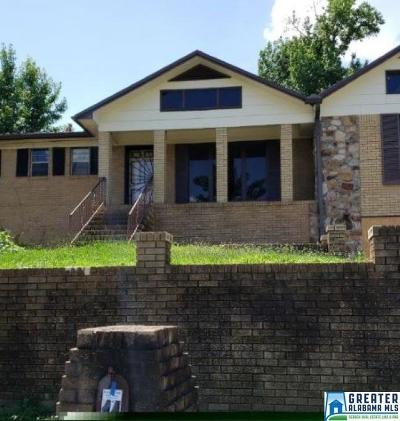 Birmingham AL Single Family Home For Sale: $44,900