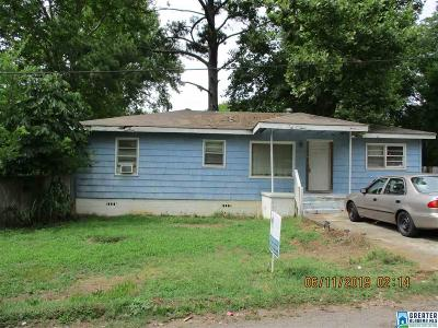Bessemer Single Family Home For Sale: 5102 18th St S