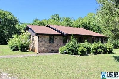 Talladega Single Family Home For Sale: 168 Mardisville Rd