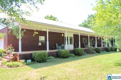 Talladega Single Family Home For Sale: 314 Talladega Creek Rd