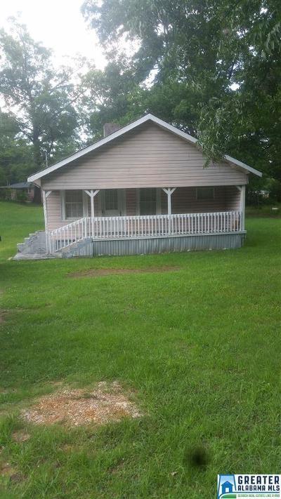 Birmingham AL Single Family Home For Sale: $52,000