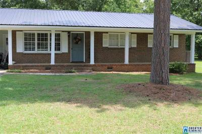 Anniston Single Family Home For Sale: 1509 Green Meadow Rd