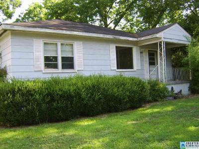 Anniston Single Family Home For Sale: 1014 Ivy St