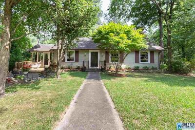 Homewood Single Family Home For Sale: 1735 Saulter Rd