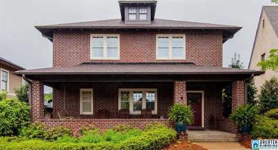 Hoover Single Family Home For Sale: 3853 Ross Park Dr