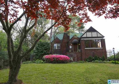 Homewood Single Family Home For Sale: 3411 Windsor Blvd