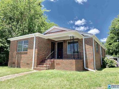 Birmingham AL Single Family Home For Sale: $54,900