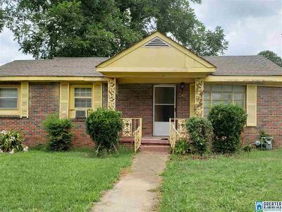 Birmingham AL Single Family Home For Sale: $18,000