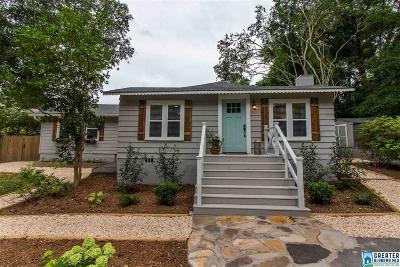 Vestavia Hills Single Family Home For Sale: 2973 Green Valley Rd