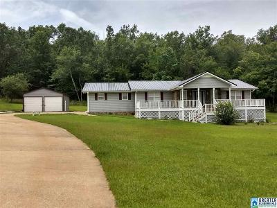 Talladega Single Family Home For Sale: 329 Greystone Ln