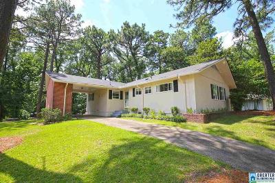 Homewood Single Family Home For Sale: 1600 Beckham Dr