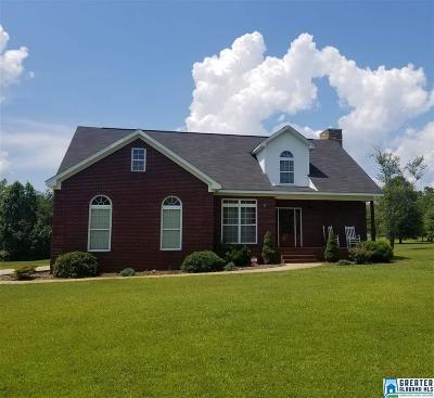 Talladega Single Family Home For Sale: 265 Waites Rd
