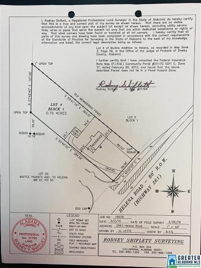 Helena Residential Lots & Land For Sale: 2563 Helena Rd