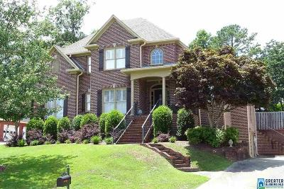 Hoover Single Family Home For Sale: 1058 Valley Crest Dr