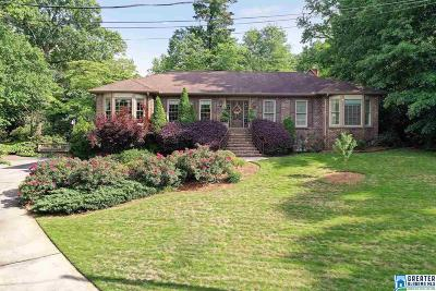Vestavia Hills Single Family Home For Sale: 1229 Edinborough Ln
