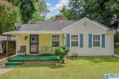 Anniston Single Family Home For Sale: 1300 11th St E