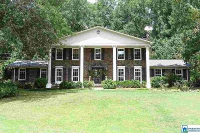 Vestavia Hills Single Family Home For Sale: 1286 Branchwater Ln