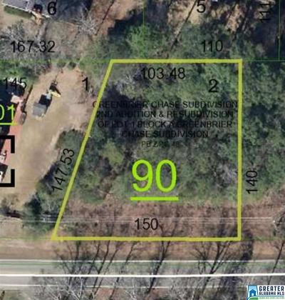 Anniston Residential Lots & Land For Sale: 01 Greenbrier Rd