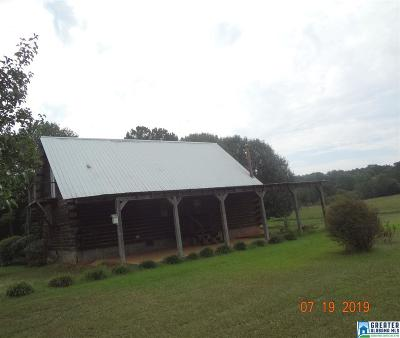 Talladega Single Family Home For Sale: 100 Rocky Mount Church Rd