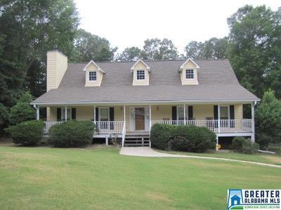 McCalla Single Family Home For Sale: 7511 Lu Pre Dr