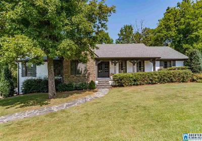 Vestavia Hills Single Family Home For Sale: 1620 Panorama Dr