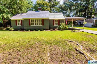 Trussville Single Family Home For Sale: 119 Parkway Dr