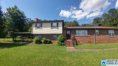 Talladega Single Family Home For Sale: 318 Cove Access Rd