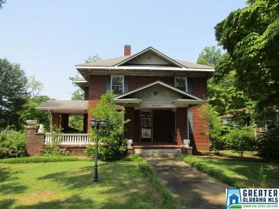 Anniston Single Family Home For Sale: 1500 Christine Ave