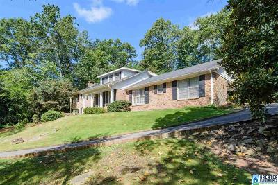 Mountain Brook Single Family Home For Sale: 3508 Brookwood Rd