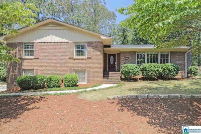 Hoover Single Family Home For Sale: 1816 Charlotte Dr