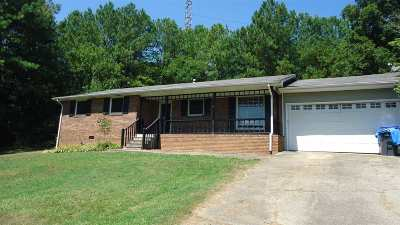 Anniston Single Family Home For Sale: 4104 Bynum Leatherwood Rd