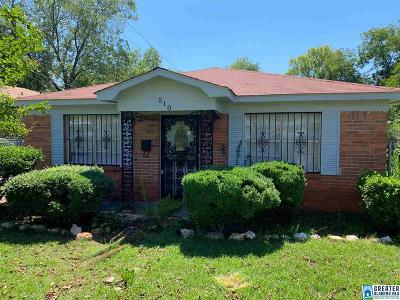 Bessemer Single Family Home For Sale: 510 30th St S