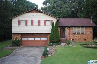 Adamsville Single Family Home For Sale: 2981 Scenic Dr