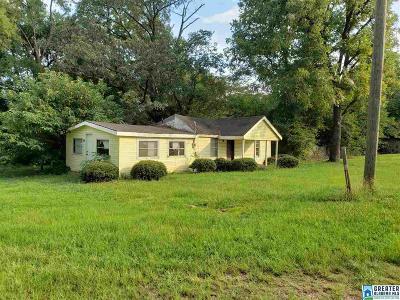 Talladega Single Family Home For Sale: 29020 Hwy 21