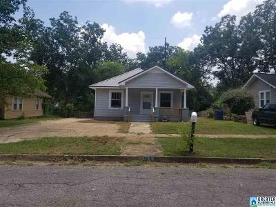 Anniston Single Family Home For Sale: 619 Knox Ave