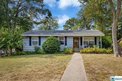 Vestavia Hills Single Family Home For Sale: 3976 Kyle Ln