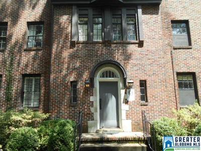 Mountain Brook Condo/Townhouse For Sale: 2501 Montevallo Rd #D