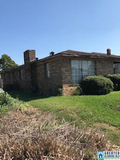 Bessemer Single Family Home For Sale: 1509 9th Ave N