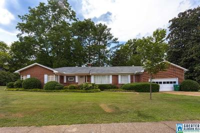 Talladega Single Family Home For Sale: 210 Martin Luther King Dr