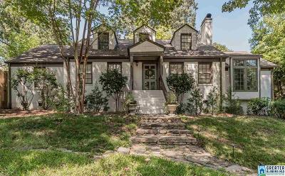 Homewood Single Family Home For Sale: 408 Yorkshire Dr