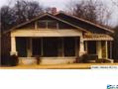 Birmingham Single Family Home For Sale: 719 Graymont Ave