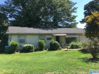 Talladega Single Family Home For Sale: 108 Bonnie Cir