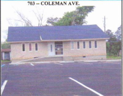Andalusia Commercial For Sale: 703 Coleman Ave