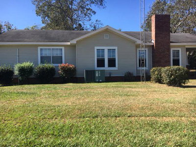 Andalusia Single Family Home For Sale: 36182 Straughn School Rd (County Road 43)