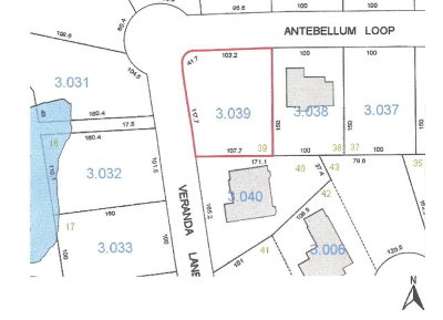 Andalusia Residential Lots & Land For Sale: Antebellum Lp