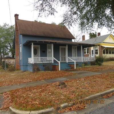 Opp Single Family Home For Sale: College St