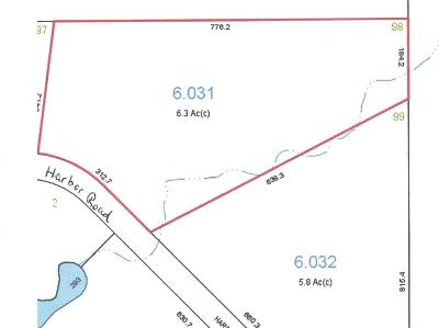 Residential Lots & Land For Sale: Harbor Rd