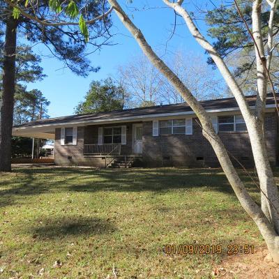 Opp Single Family Home For Sale: 901 Brantley St