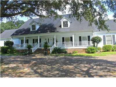 Mobile Single Family Home For Sale: 11555 Jeff Hamilton Road